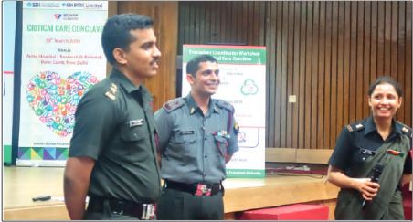 Critical Care Conclave Workshop held at Army Hospital (Research & Referral) New Delhi