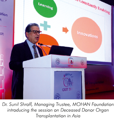 MOHAN Foundation participates in the 16th Congress of the Asian Society of Transplantation held in Greater Noida, Delhi-NCR