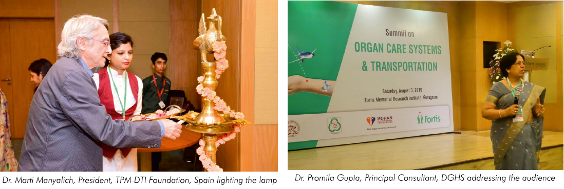 FORT organises Summit on 'Organ Care Systems & Transportation' in collaboration with MOHAN Foundation